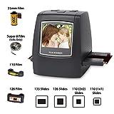 DIGITNOW! Scanner de films et diapositives Tout-en-un 22MP , Films Super 8 ,Films s110/126, 35mm. Numérisation de négatifs et diapositives au format JPEG