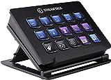 Elgato Stream Deck - Contrôleur de Création de contenus en Direct, 15 Touches LCD Personnalisables, Support Réglable, Windows 10 et macOS 10.13 ou Version Plus Récente