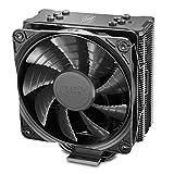 DEEP COOL GAMMAXX GTE V2 Black, Ventilateur de Processeur PC, 4 Caloducs, Ventilateur 120mm PWM, Intel & AMD, Noir