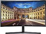 Samsung C24F396FHU, Ecran PC Incurvé, Dalle VA 24'', Résolution Full HD (1920 x 1080), 60 Hz , 4ms, AMD FreeSync, Noir Brillant