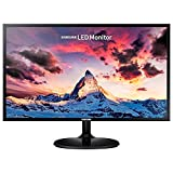 SAMSUNG S24F354FHR, Ecran PC 24'', Résolution FHD (1920 x 1080), Dalle PLS, Angle de vision 178°/178°, 4ms, 60Hz, 1 VGA, 1 HDMI