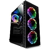 Vibox I-7 PC Gamer avec Un Jeu Gratuit - Windows 10 - WiFi - Quad Core Ryzen Processeur - Radeon Vega 8 Graphique - 16Go RAM - 240Go SSD - 1To Disque Dur